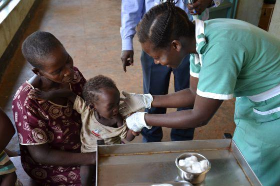 Reportaje Chema Caballero matronas Sudan del Sur